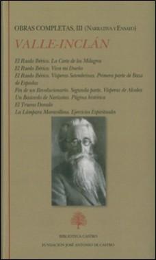 BIBLIOTECA CASTRO – OBRAS COMPLETAS VALLE-INCLAN
