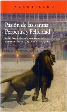 ACANTILADO - PASION SANTAS PERPETUA Y FELICIDAD