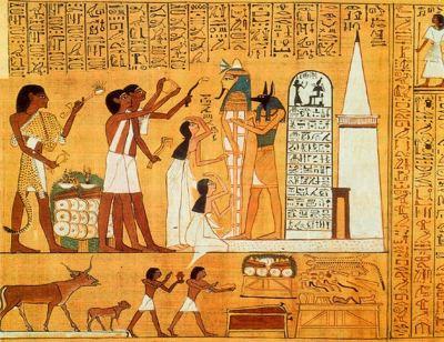 ANUBIS RITO EGIPTO