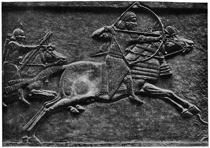 assurbanipal cazando