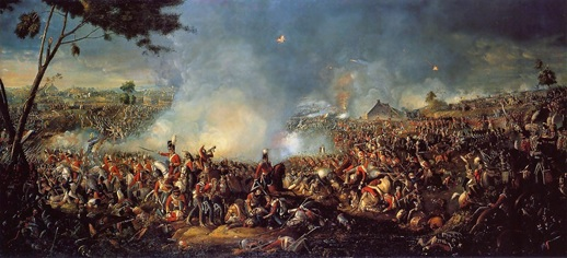 BATALLA DE WATERLOO WELLINGTON