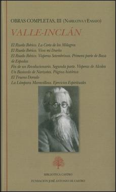 BIBLIOTECA CASTRO - OBRAS COMPLETAS VALLE-INCLAN