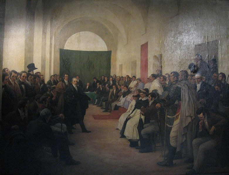 CABILDO ABIERTO  BUENOS AIRES 1810