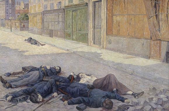 COMUNA DE PARIS - GUARDIAS EJECUTADOS