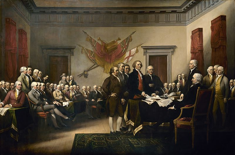 DECLARACION INDEPENDENCIA EEUU