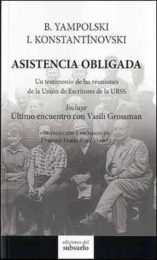 EDICIONES SUBSUELO - ASISTENCIA OBLIGADA