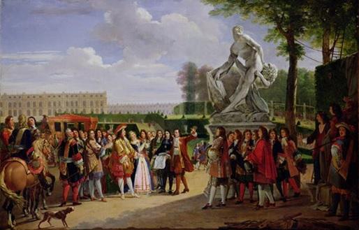 ESTADO ABSOLUTISTA - CORTE DE LUIS XIV