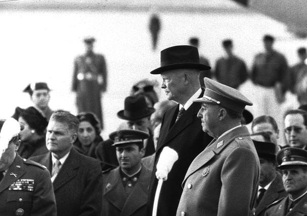 Franco y Eisenhower