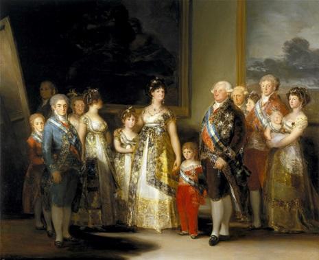 GOYA - FAMILIA DE CARLOS IV