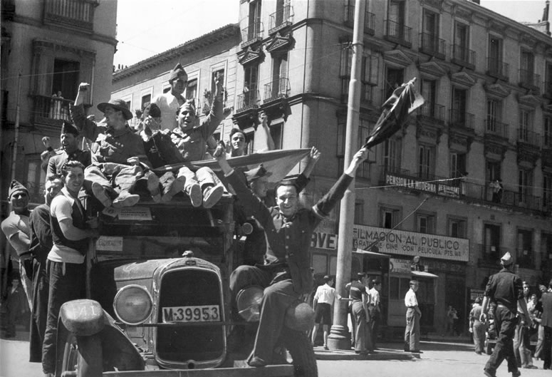 GUERRA CIVIL MADRID