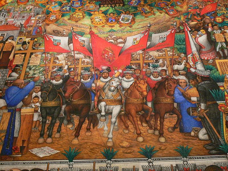Hernan Cortes y la conquista de Mejico
