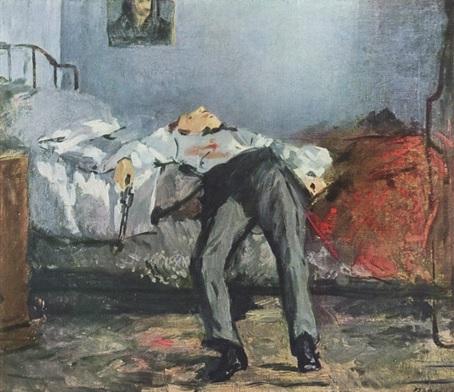 HISTORIA DEL SUICIDIO - MANET