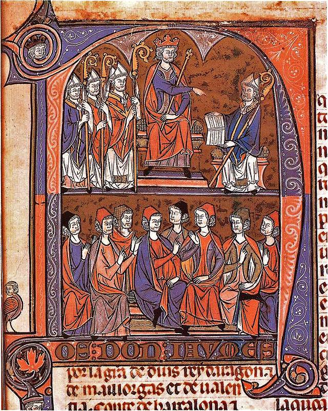 Jaime I jura fueros ARAGON