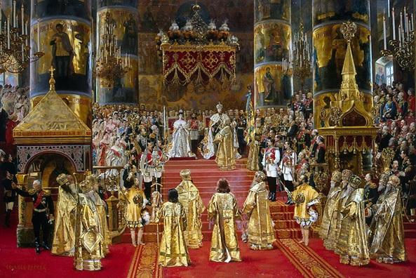 Coronación del zar Alejandro III