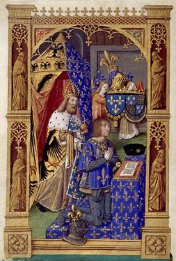LUIS XII Y CARLOMAGNO