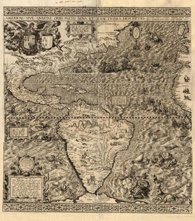 Mapa Nuevo Mundo