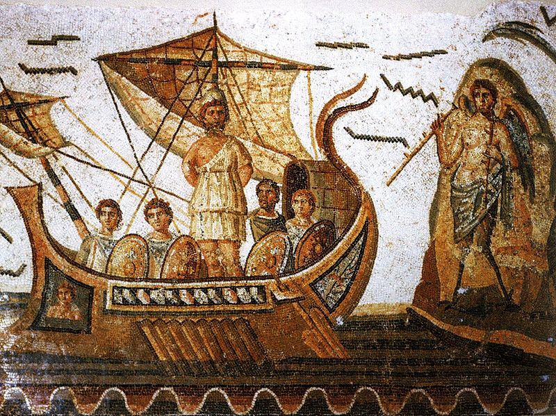 Mosaico de Ulises