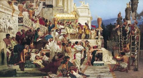 PERSECUCION NERON A CRISTIANOS