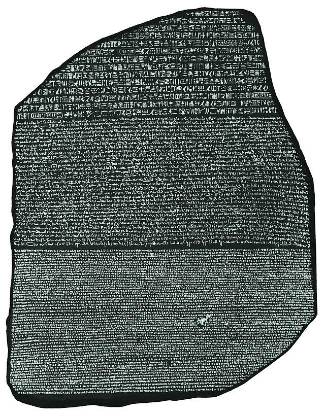 Piedra Rosetta - Metahistoria