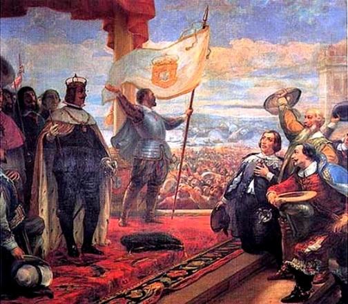 PROCLAMACION REY PORTUGAL JOAO V