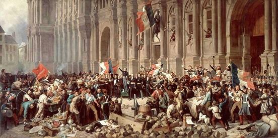 REVOLUCION DE 1848 - AYUNTAMIENTO DE PARIS
